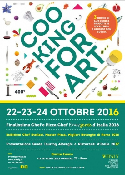 Cooking For Art Roma Finalissima - Officine Farneto